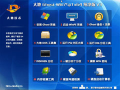 大地 Ghost Win7 Sp1 x64 纯净版 V3