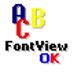 FontViewOK(字體瀏覽軟件) V5.51 多國語言綠色版