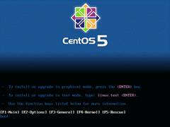 CentOS 5.0 i386官方正式版系统(32位)