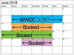 外媒:苹果WWDC 2018或于今年6月4日盛大开幕