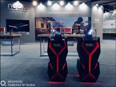 MWC 2018:努比亚展出概念游戏手机