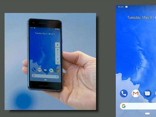 国外网友放出谷歌Android P系统上手体验视频