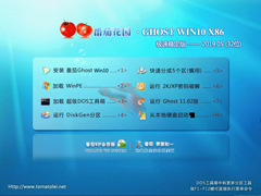 番茄花園 GHOST WIN10 X86 極速穩定版 V2019.05(32位)