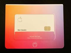 无条件返现£¡苹果Apple Card信用卡实物首曝光