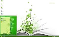 书树xp电脑桌面主题