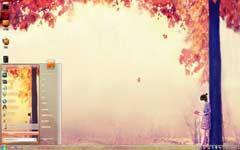 秋天熟了win7风景主题
