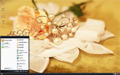 耀眼的珠花XP主题下载