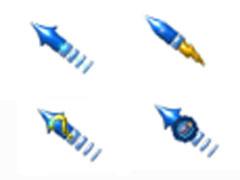 藍色重力炮鼠標指針