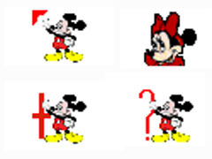 可爱米奇鼠标指针
