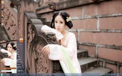 唐代古装美女Win7主题