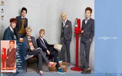 EXO-M韩国组合Win7主题