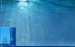 海底阳光xp主题