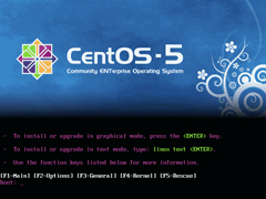 CentOS 5.5 x86_64官方正式版系统(64位)