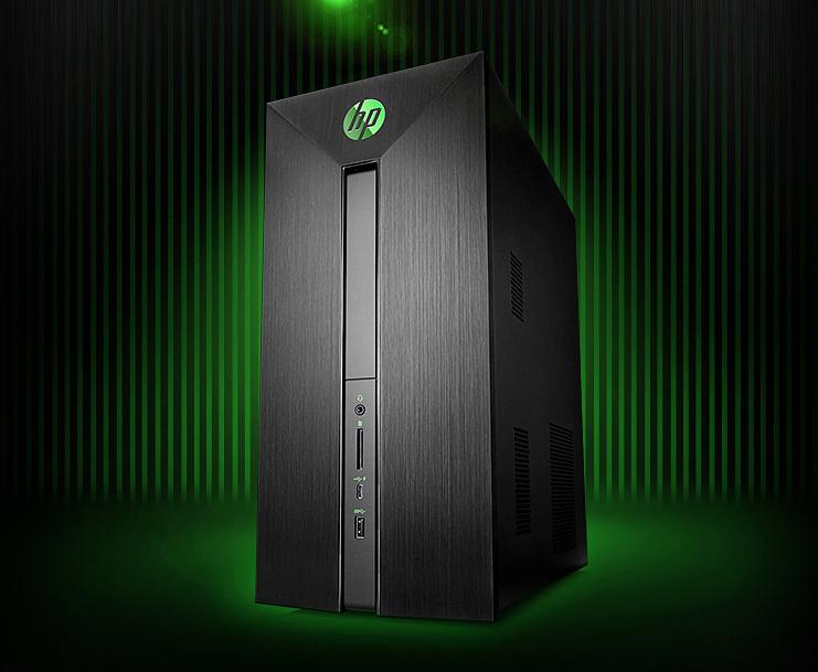 i5-7400四核/8G/GTX 1050独显惠普办公游戏台式电脑