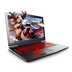 i5-7300HQ四核/4G/NVIDIA GeForce GTX1050TI 独显联想游戏本