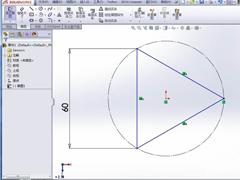 SolidWorks如何画正四面体?SolidWorks建模正四面体的方法