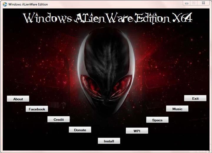 外星人Alienware OEM原版系统Win7 64位 V2021.01