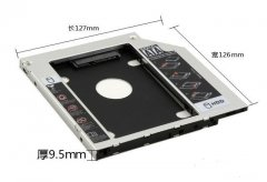 怎么把笔记本电脑光驱位换硬盘?