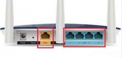 無線路由器怎么插網線?