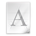 Rage italic字体ttf版 V1.0 免费版