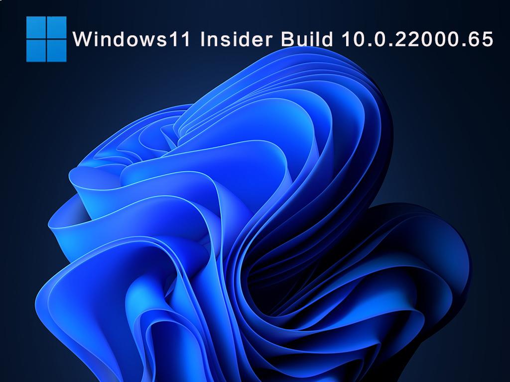 Windows11 Insider Build 10.0.22000.65(KB5004745)V2021