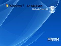 雨林木風 GHOST WIN7 64位 純凈旗艦版 V2021.03